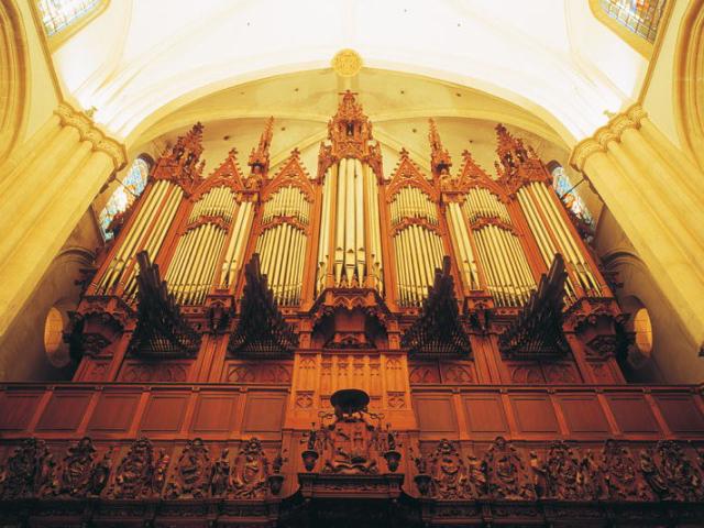 Órgano Merklin-Schütze de la Catedral de Murcia