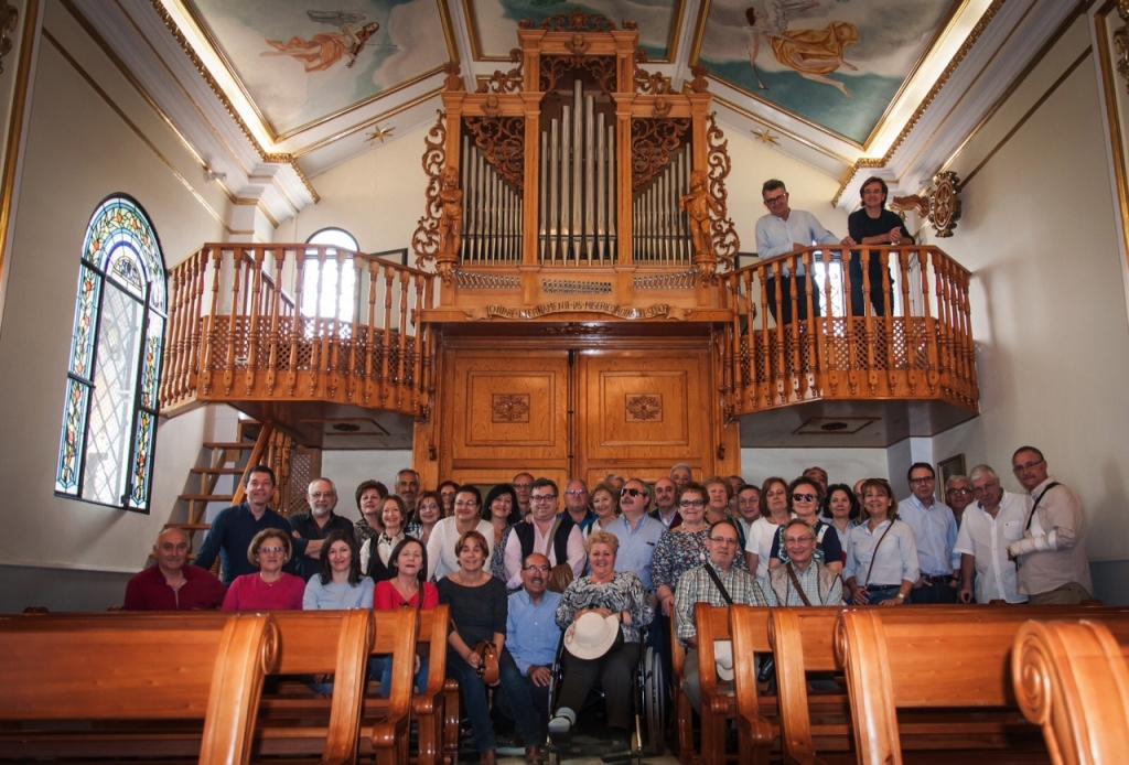 concierto de órgano y flauta en la ermita
